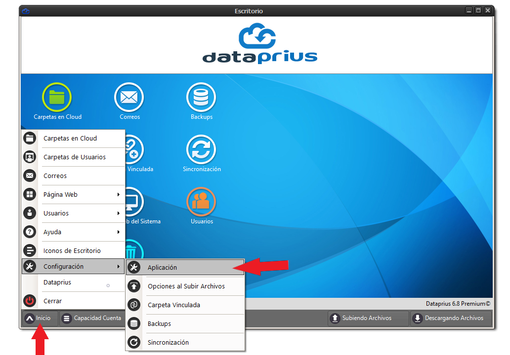 configuracion-aplicacion-dataprius