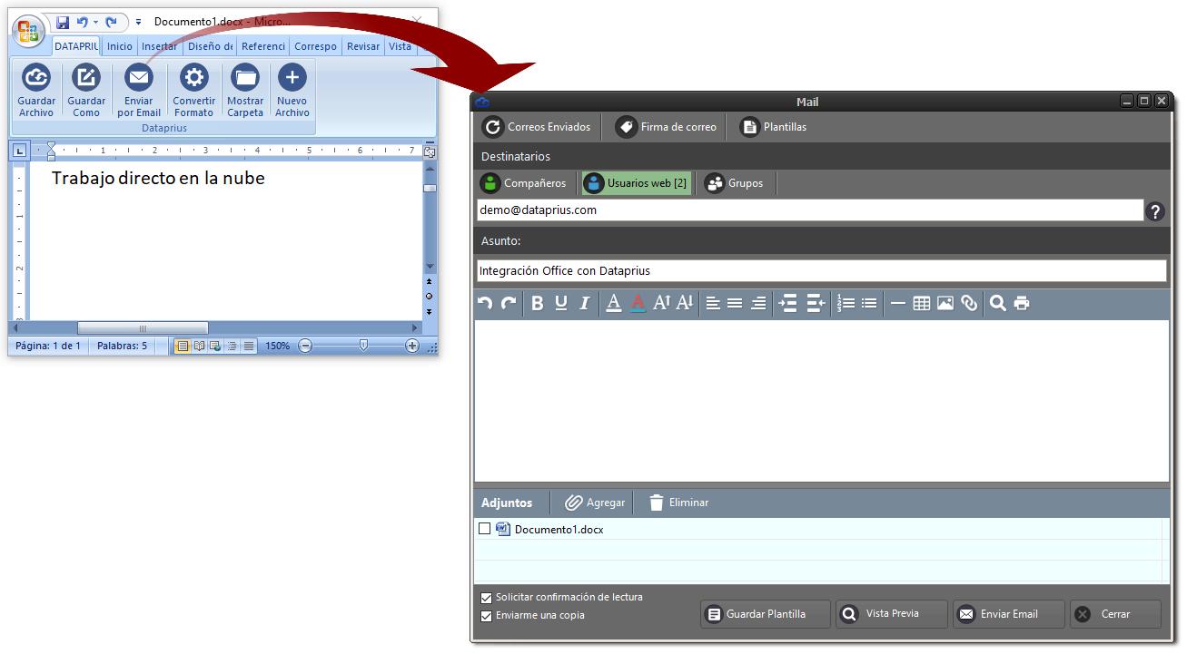office-enviar-archivo-por-email-dataprius